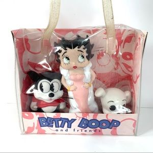 Vintage Betty Boop and friends figure set